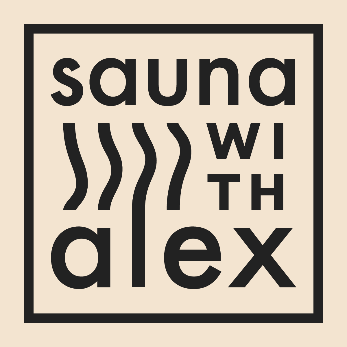 Sauna with Alex Logo